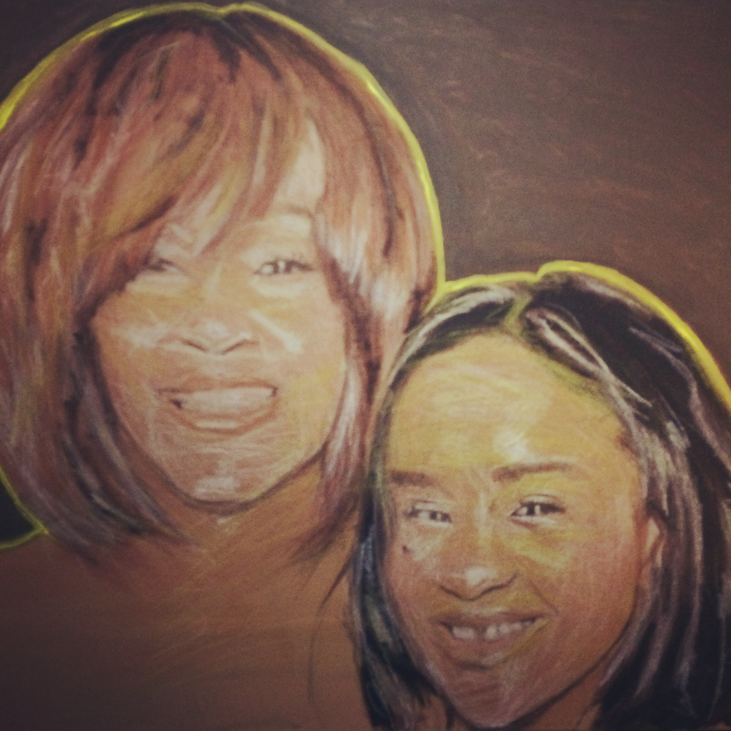 Whitney and Bobbi-Christina Brown (2015)